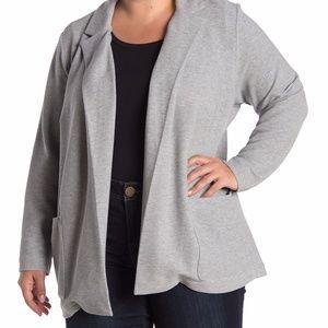 NWT Catherine Malandrino Grey Knit Jacket/Cardigan